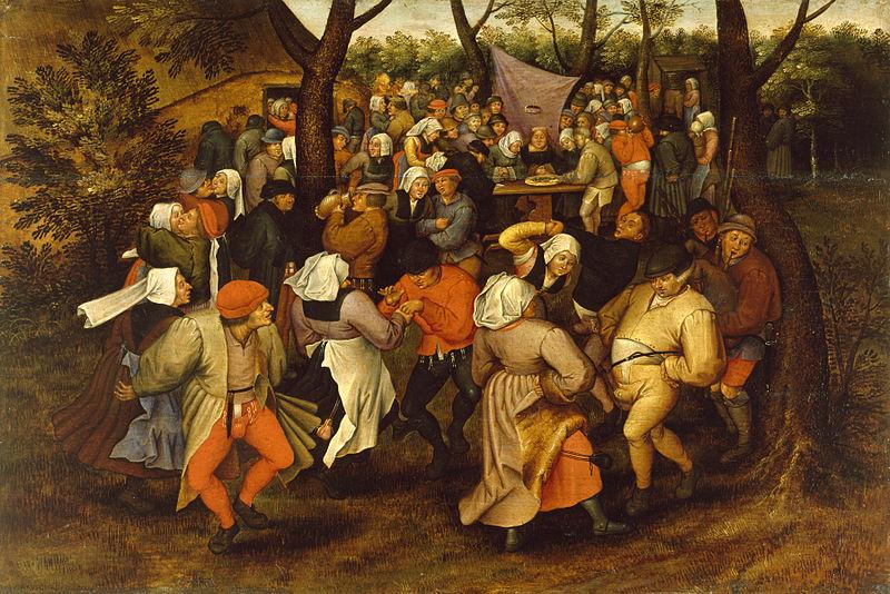800px-Pieter_Bruegel_II_-_Peasant_Wedding_Dance_-_Walters_37364